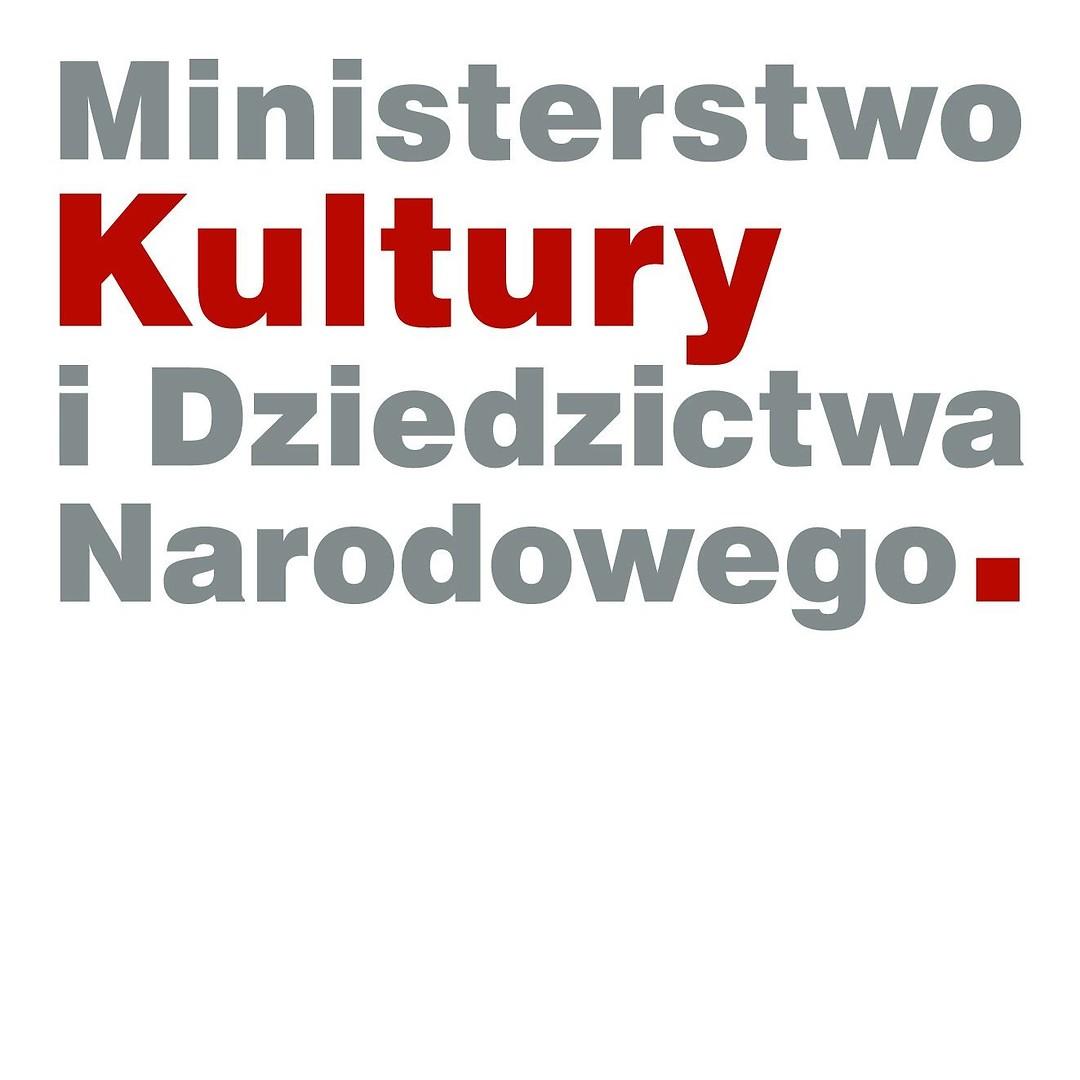 logo Ministerstwo Kultury i Dziedzictwa Narodowego