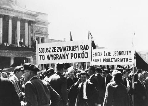 fotografia z pochodu