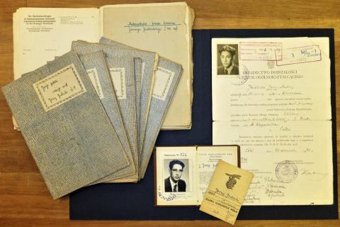 dokumenty z kolekcji Jerzego Jedlickiego