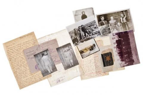 kolaż archiwalnych fotografii