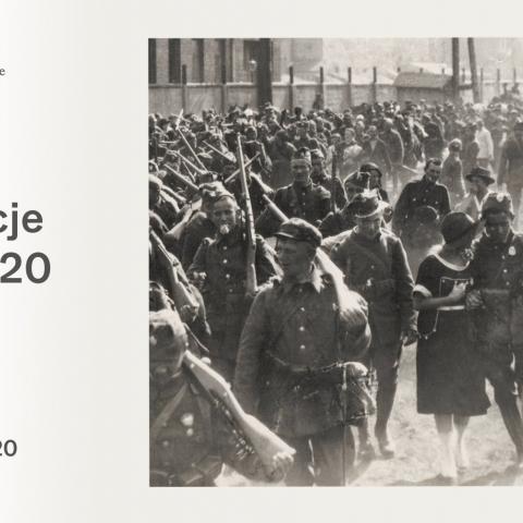 zaproszenie na wystawę Fotorelacje Wojna 1920
