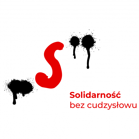 logo Solidarność bez cudzysłowu