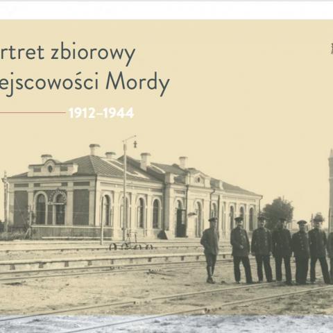 okładka książki Portret zbiorowy miejscowości Mordy – 1912–1944