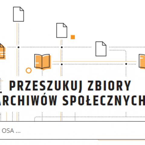 zrzut z ekranu Otwarty System Archiwizacji
