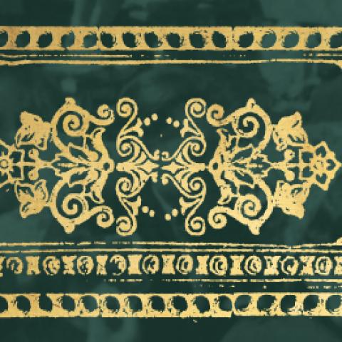 baner z motywem tatarskim