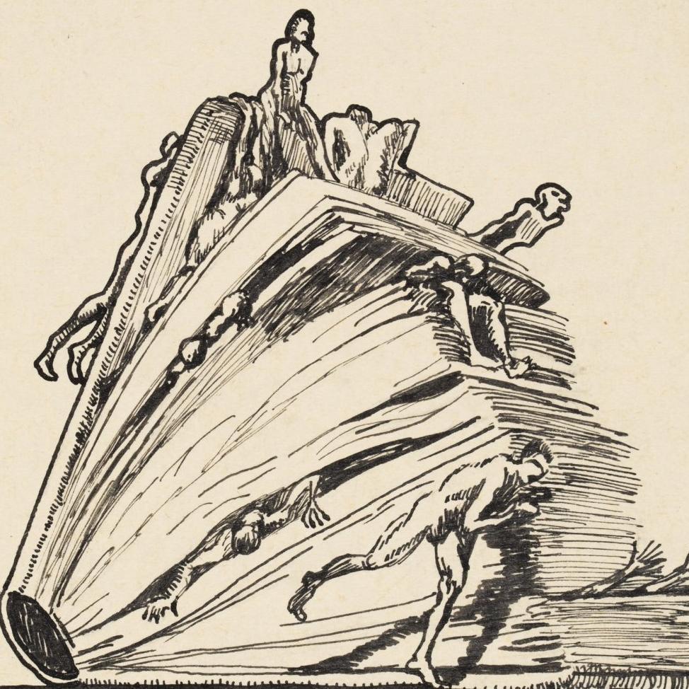 rysunek Henryka Becka