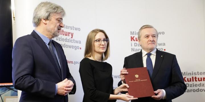 24 stycznia 2020, Warszawa. Powołanie Centrum Archiwistyki Społecznej. fot. Danuta Matloch/MKiDN