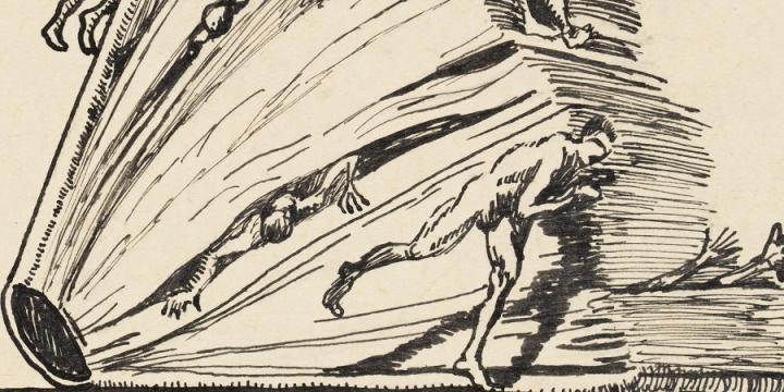 rysunek autorstwa Henryka Becka