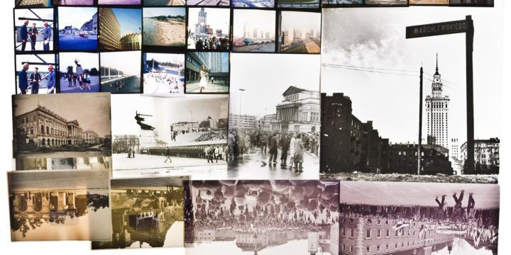 kolaż zdjęć archiwalnych