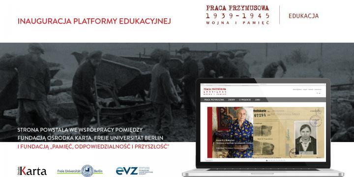 baner inauguracja platformy edukacyjnej