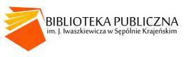 logo biblioteka w Sępólnie